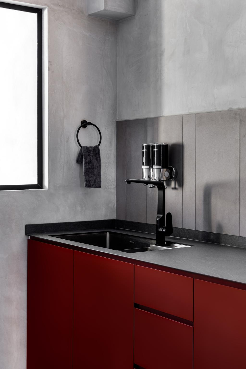 Contemporary, HDB, Kitchen, Hougang Avenue 4, Interior Designer, The Local INN.terior 新家室, Scandinavian