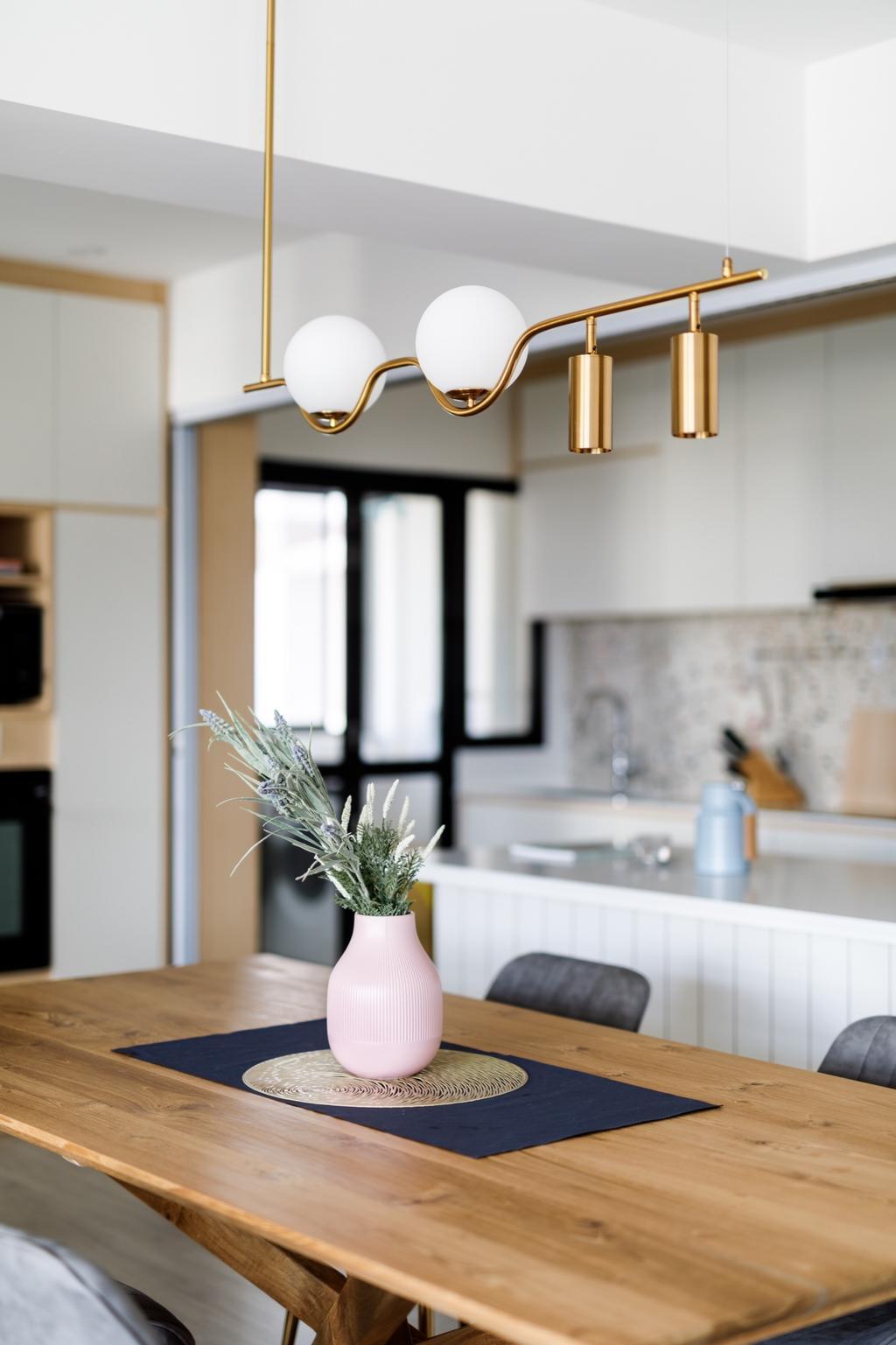Scandinavian, HDB, Dining Room, Sengkang West Road, Interior Designer, The Local INN.terior 新家室