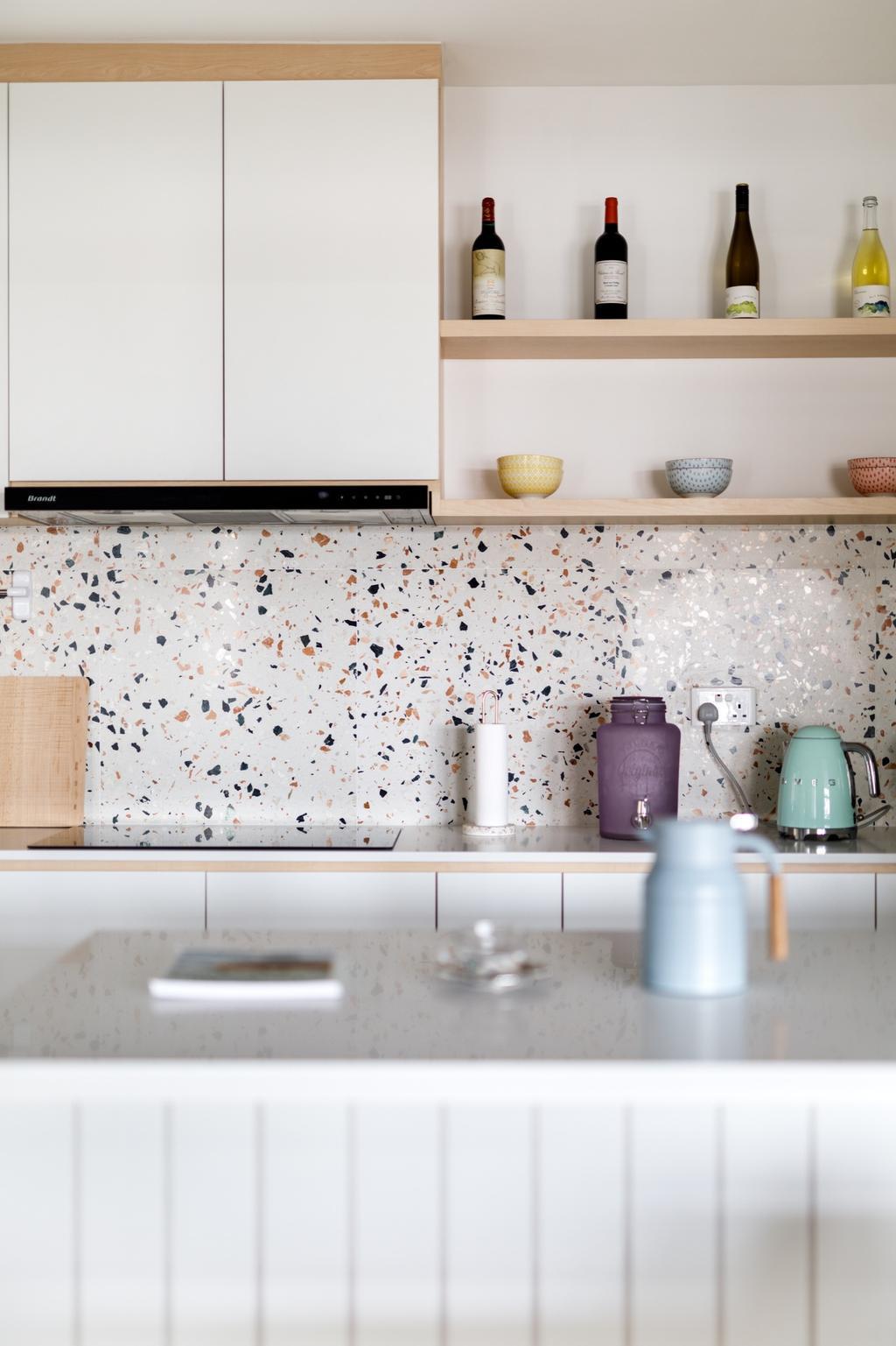 Scandinavian, HDB, Kitchen, Sengkang West Road, Interior Designer, The Local INN.terior 新家室