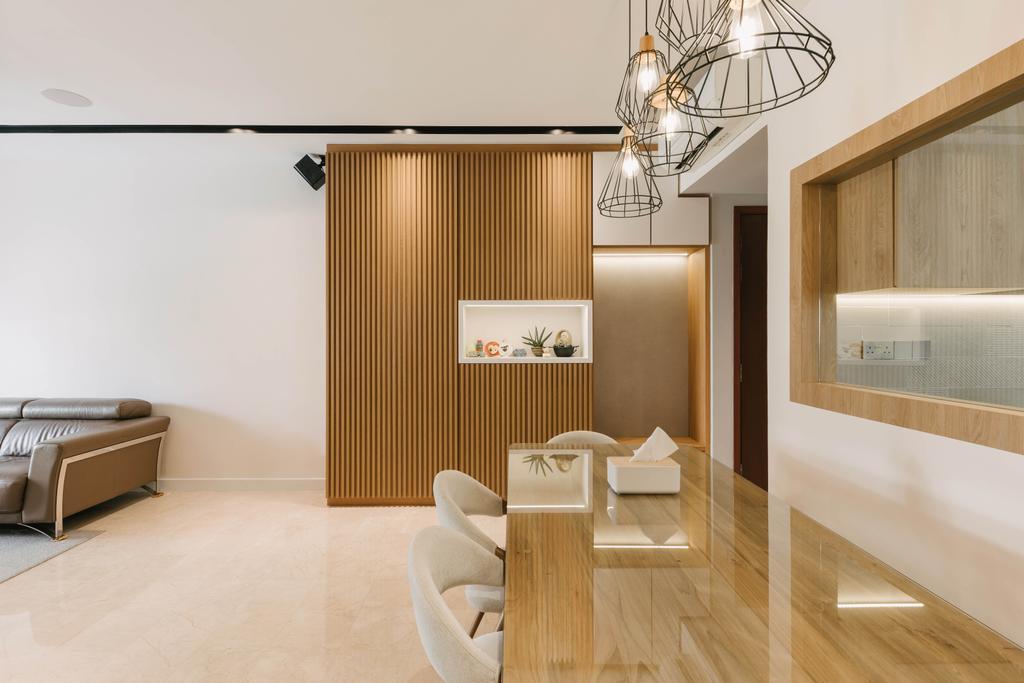 Scandinavian, Condo, Dining Room, The Trevose, Interior Designer, Ascenders Design Studio
