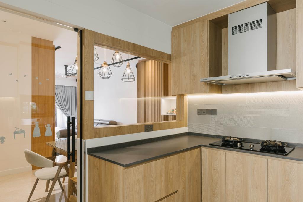 Scandinavian, Condo, Kitchen, The Trevose, Interior Designer, Ascenders Design Studio