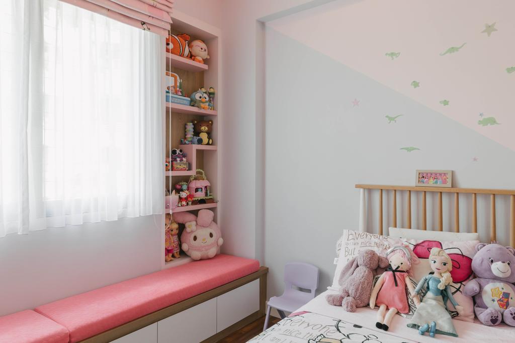 Scandinavian, Condo, Bedroom, The Trevose, Interior Designer, Ascenders Design Studio