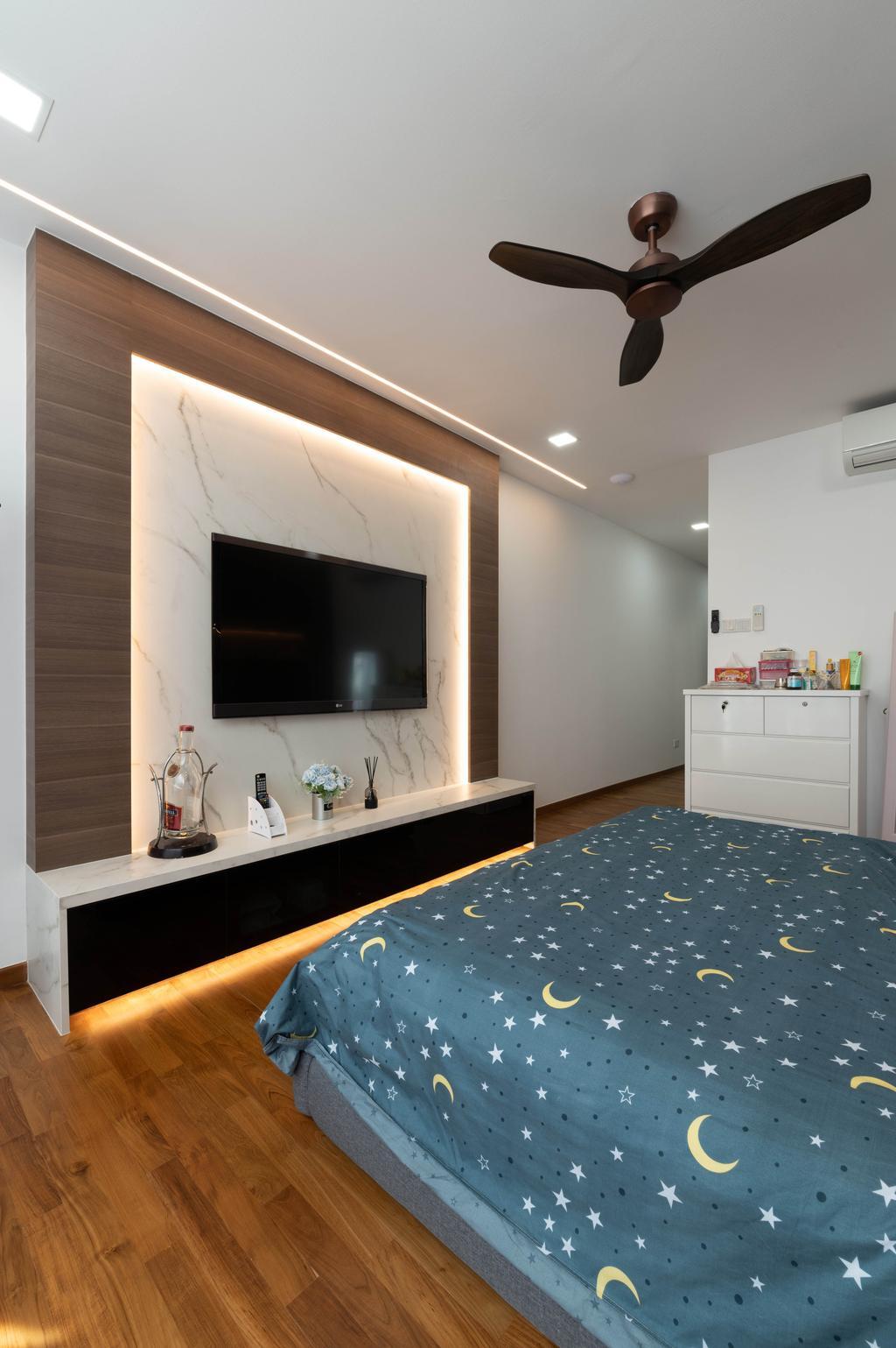 Landed, Bedroom, Galistan Avenue, Interior Designer, Livinci Interior