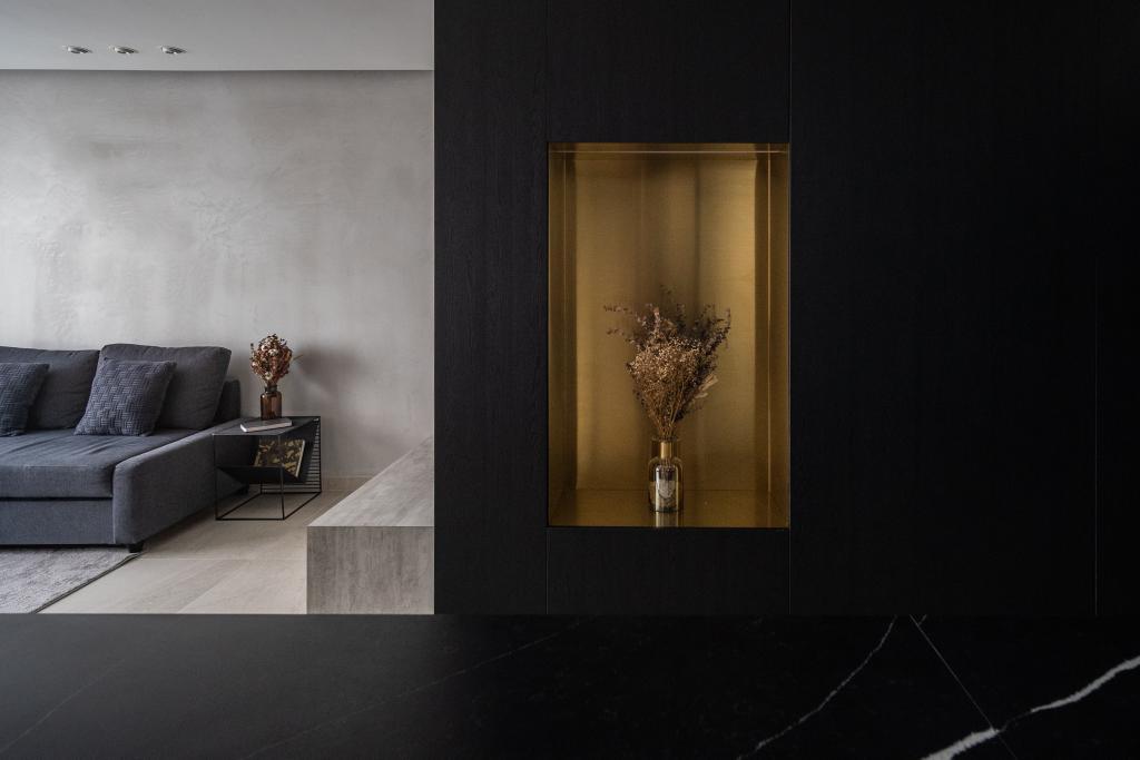 Industrial, HDB, Living Room, Depot Road, Interior Designer, Arche Interior, Minimalistic