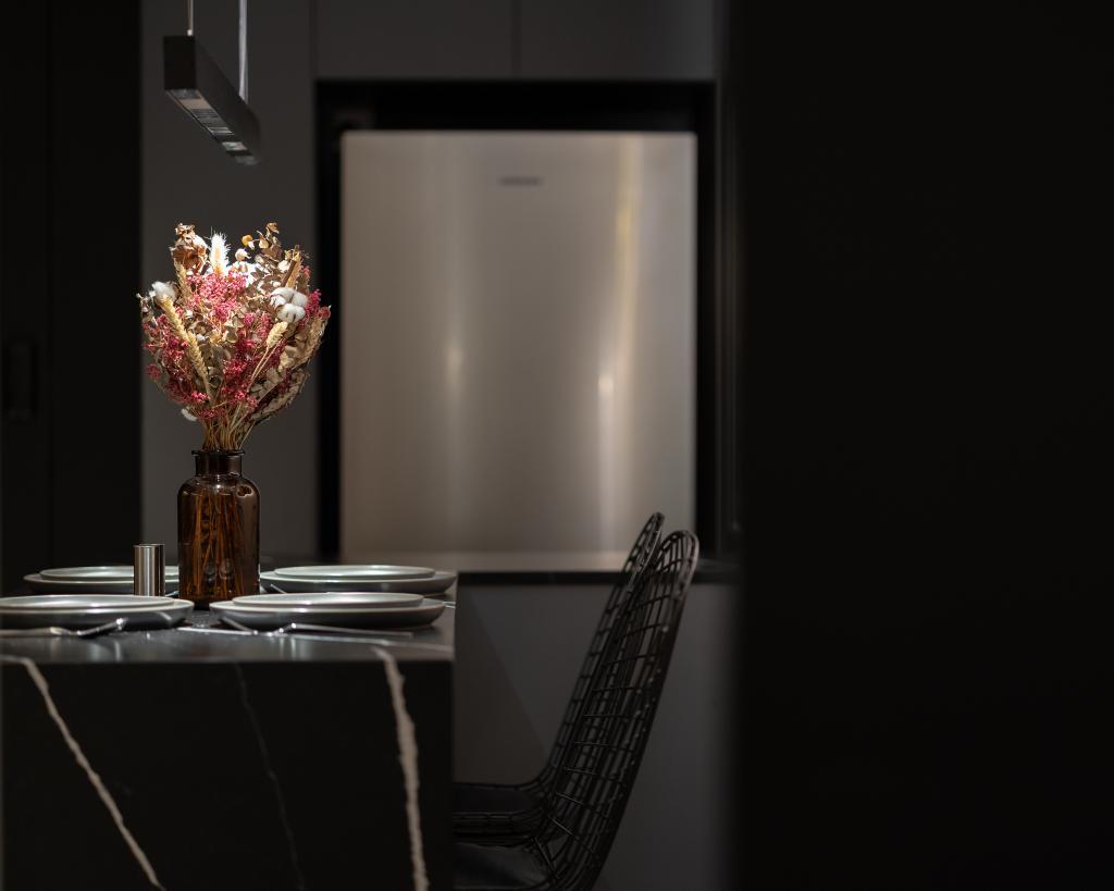 Industrial, HDB, Dining Room, Depot Road, Interior Designer, Arche Interior, Minimalistic