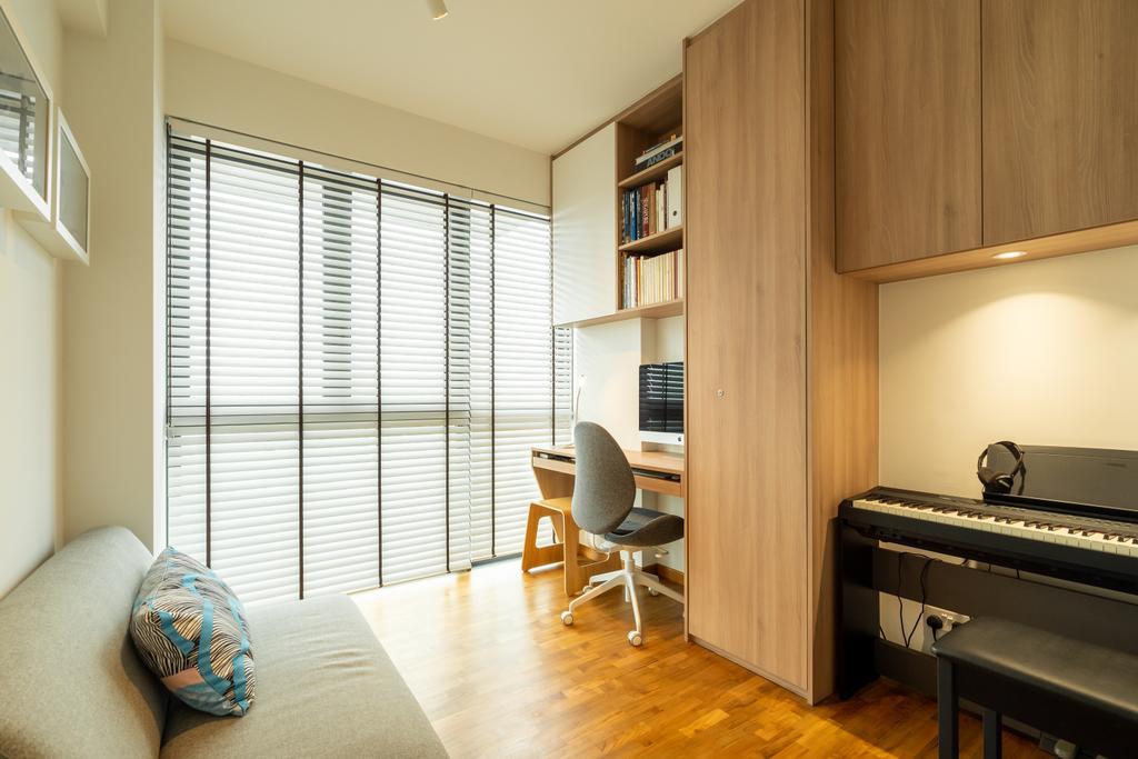 Scandinavian, Condo, Study, Esparina Residences, Interior Designer, Charlotte's Carpentry