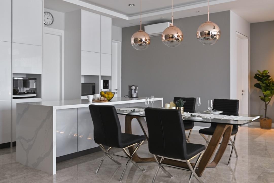 Modern Condo, KL by IQI Concept Interior Design & Renovation