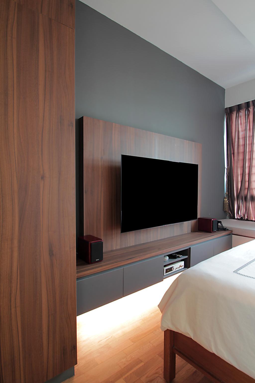 Contemporary, Condo, Bedroom, Flora Drive, Interior Designer, VVID Elements