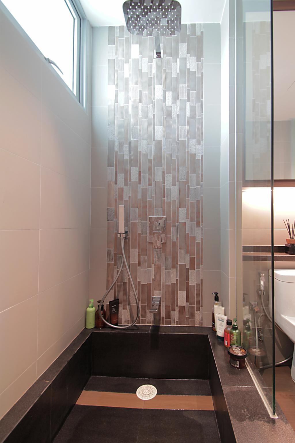 Contemporary, Condo, Bathroom, Flora Drive, Interior Designer, VVID Elements