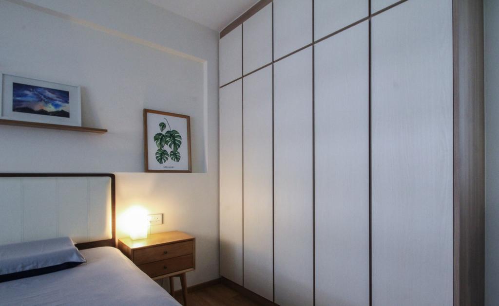 Scandinavian, HDB, Bedroom, Yishun Avenue 9, Interior Designer, Sense & Semblance, Contemporary