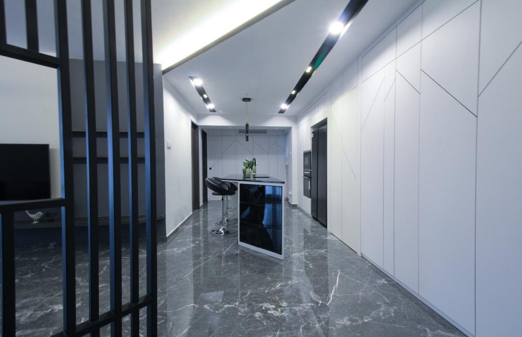 Contemporary, HDB, Living Room, Anchorvale Road, Interior Designer, Sense & Semblance