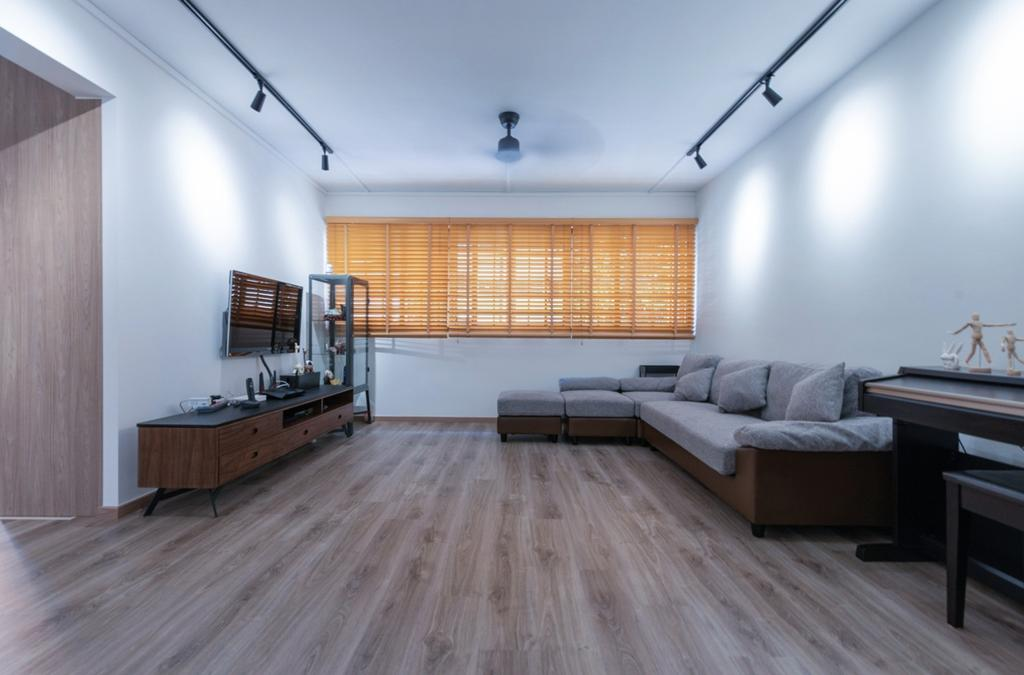Contemporary, HDB, Living Room, Yishun Ring Road, Interior Designer, Sense & Semblance, Scandinavian