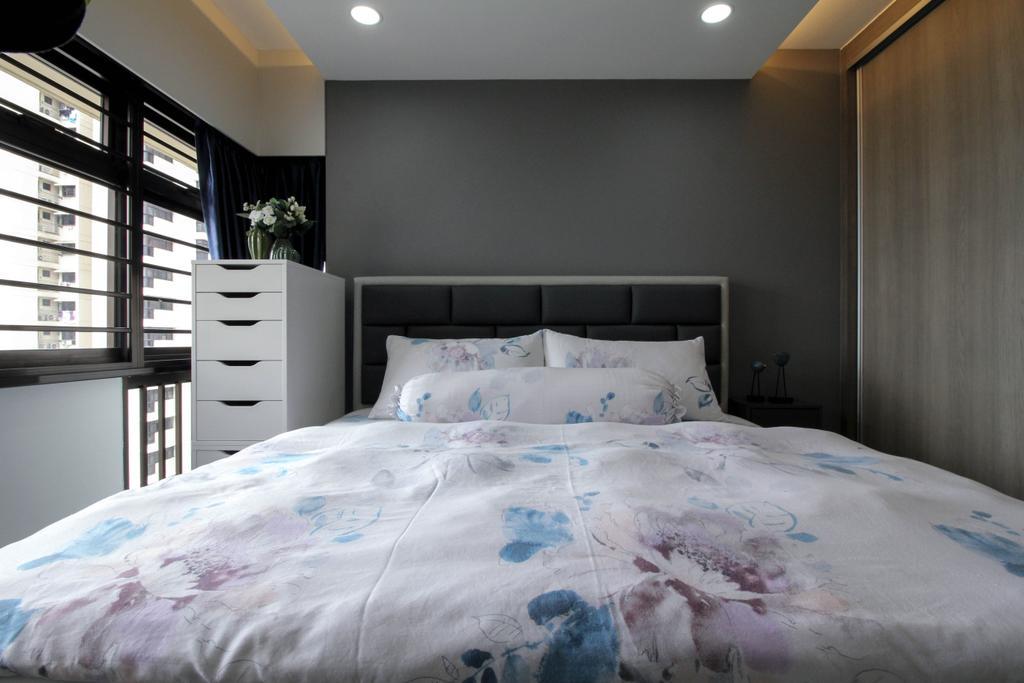 Contemporary, HDB, Bedroom, Toa Payoh Lorong 2, Interior Designer, Sense & Semblance