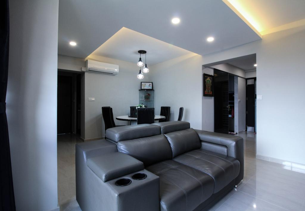 Contemporary, HDB, Living Room, Toa Payoh Lorong 2, Interior Designer, Sense & Semblance
