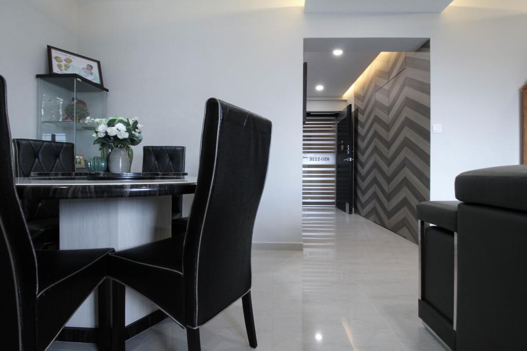 Contemporary, HDB, Dining Room, Toa Payoh Lorong 2, Interior Designer, Sense & Semblance