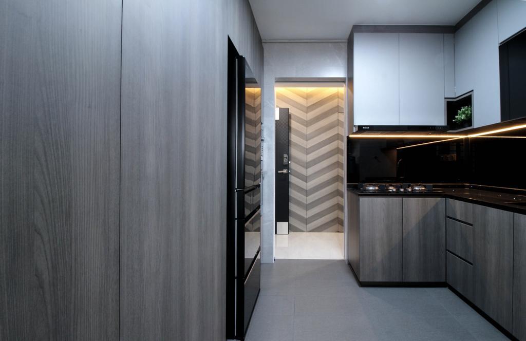 Contemporary, HDB, Kitchen, Toa Payoh Lorong 2, Interior Designer, Sense & Semblance