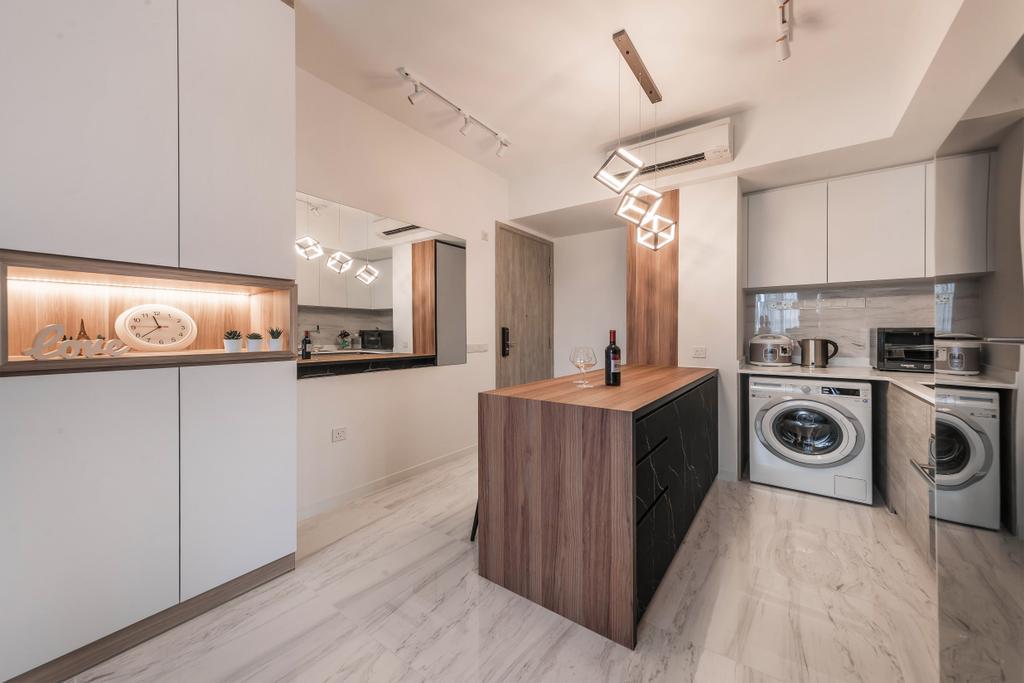 Contemporary, Condo, The Alps Residences, Interior Designer, Swiss Interior Design