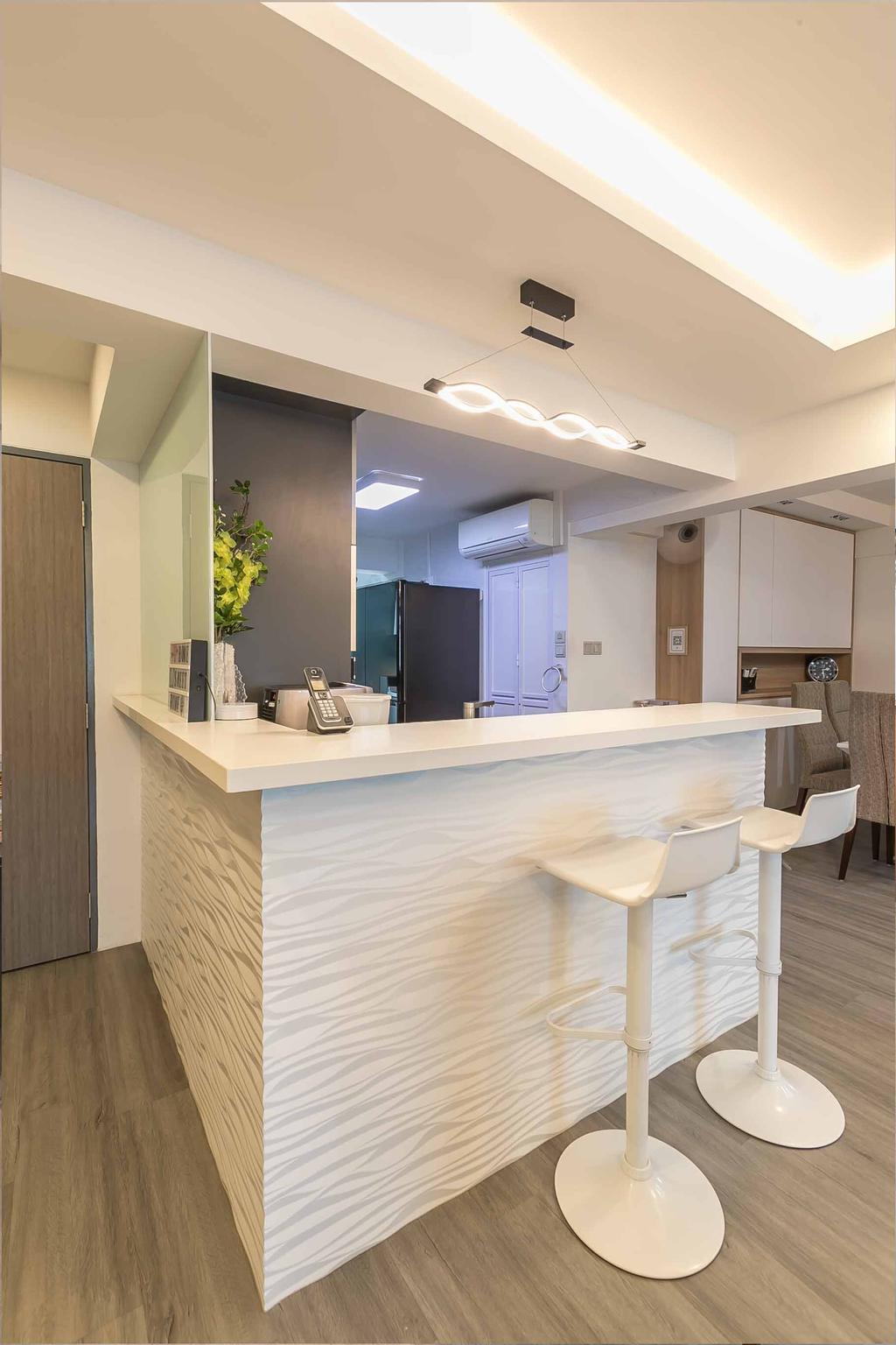 Contemporary, HDB, Bedok North Avenue 2, Interior Designer, Swiss Interior Design