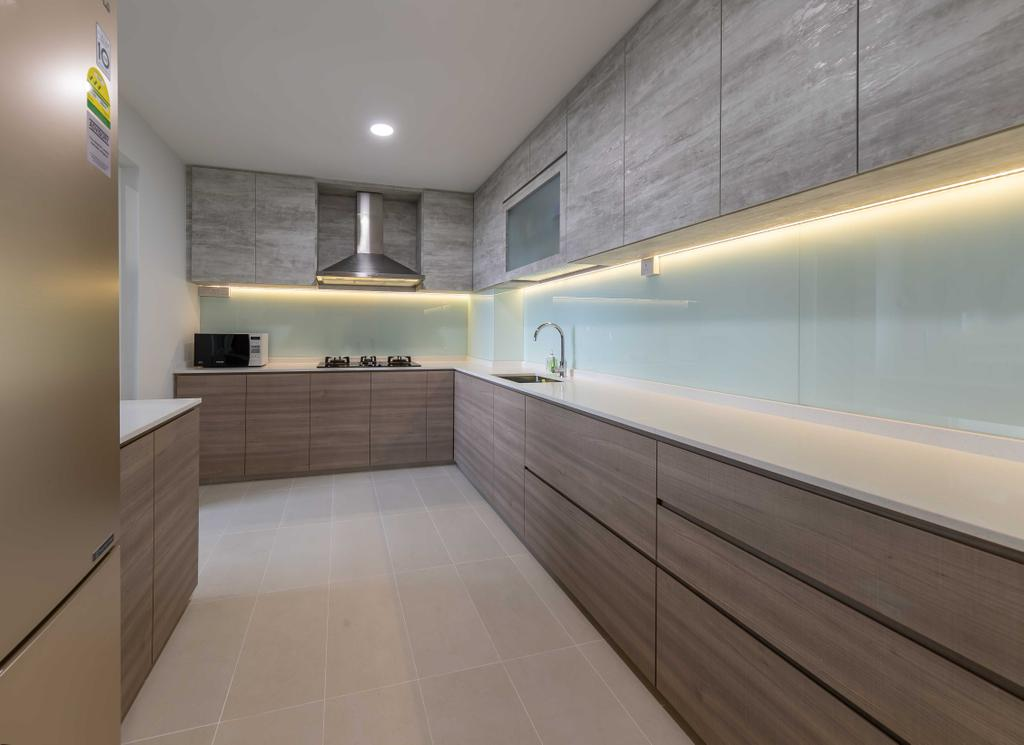 HDB, Kitchen, Senja Road, Interior Designer, Swiss Interior Design