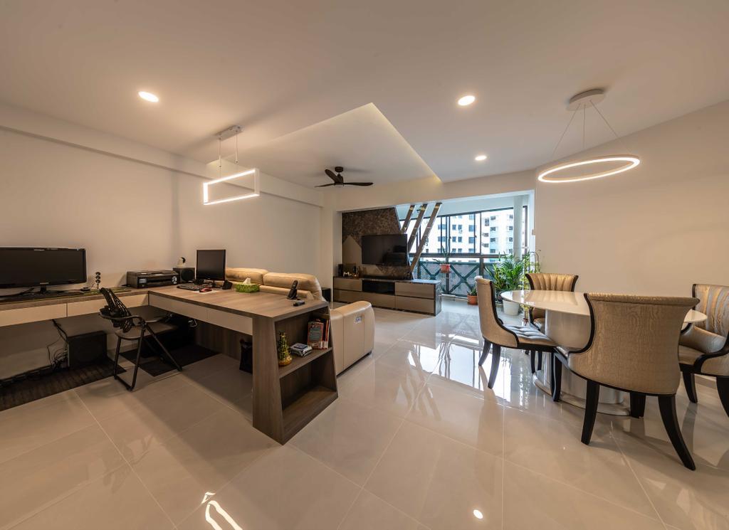 HDB, Dining Room, Senja Road, Interior Designer, Swiss Interior Design