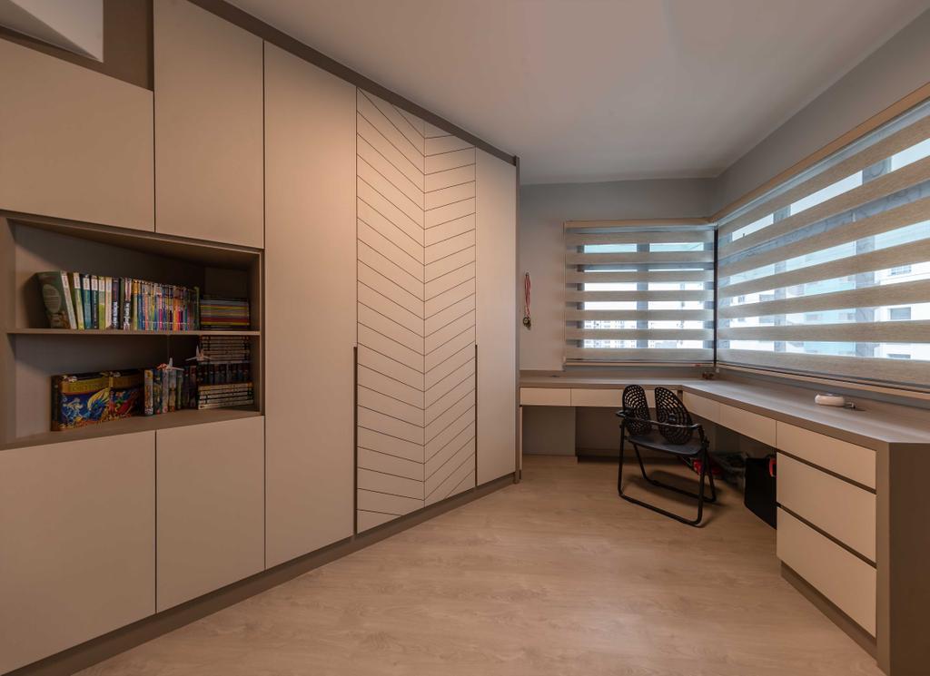 HDB, Study, Senja Road, Interior Designer, Swiss Interior Design