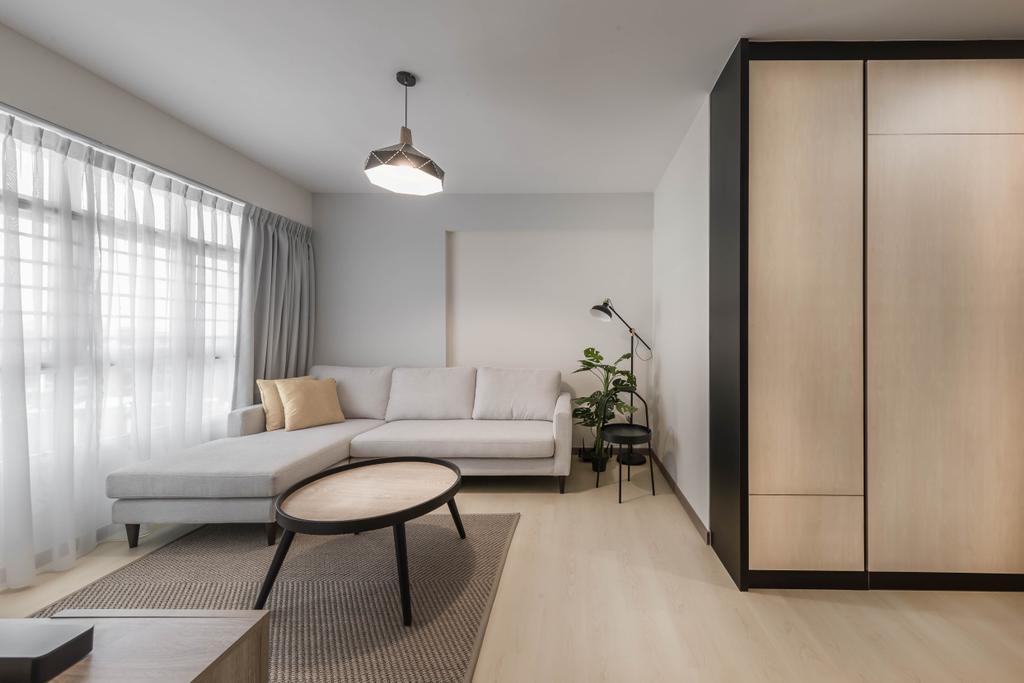 Minimalistic, HDB, Living Room, Bukit Batok West Avenue 9, Interior Designer, Swiss Interior Design