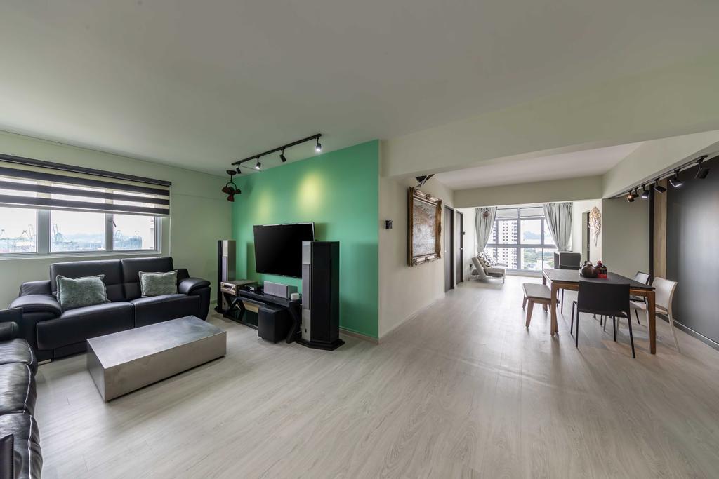 Modern, HDB, Living Room, Spottiswoode Park Road, Interior Designer, Swiss Interior Design, Contemporary