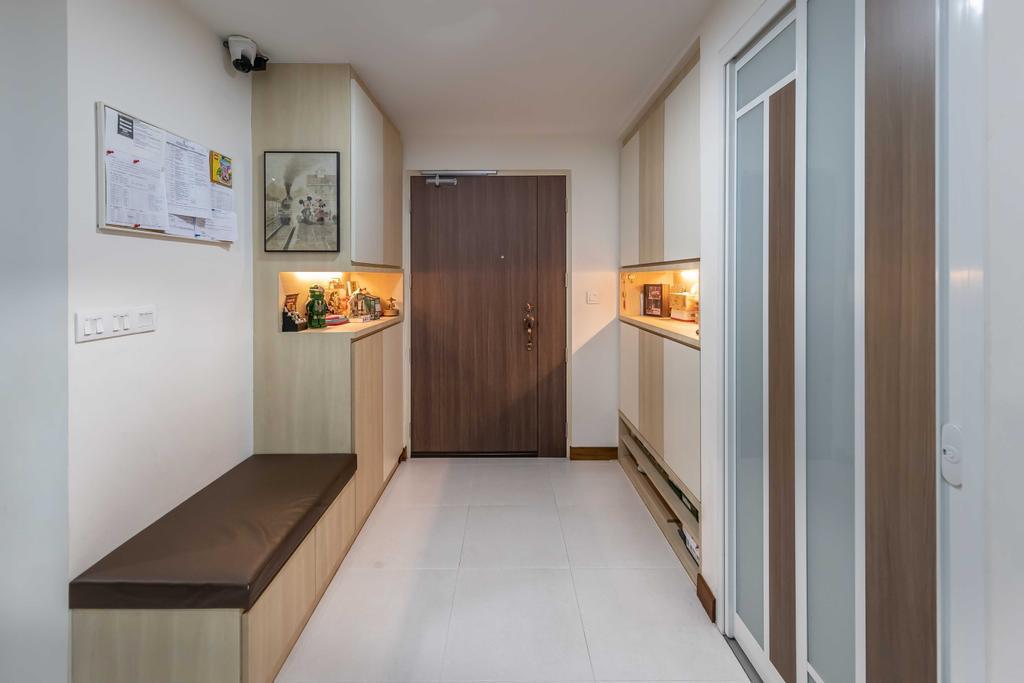 Contemporary, HDB, Living Room, Punggol Field, Interior Designer, Swiss Interior Design