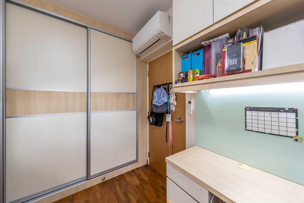 Contemporary, HDB, Bedroom, Punggol Field, Interior Designer, Swiss Interior Design