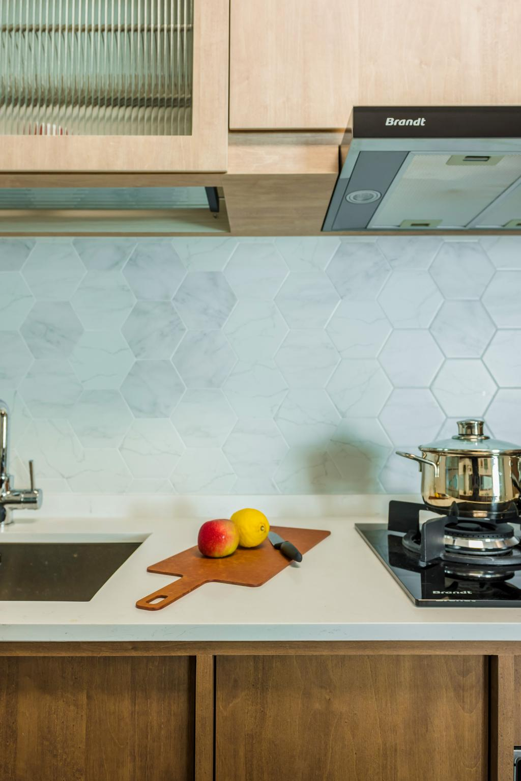 Contemporary, HDB, Kitchen, Bidadari Park Drive, Interior Designer, Archive Design