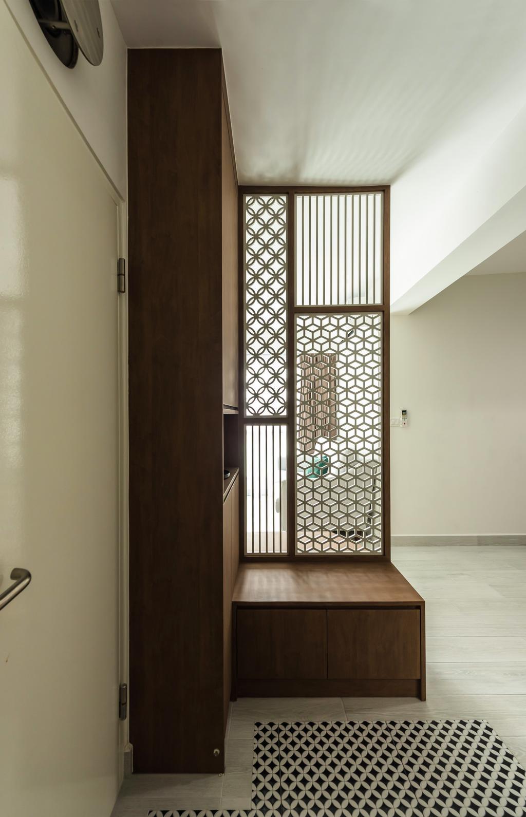 Contemporary, HDB, Living Room, Bidadari Park Drive, Interior Designer, Archive Design