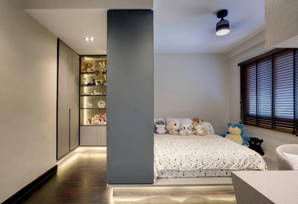 Scandinavian, Landed, Bedroom, Chempaka Kuning Link, Interior Designer, Juz Interior
