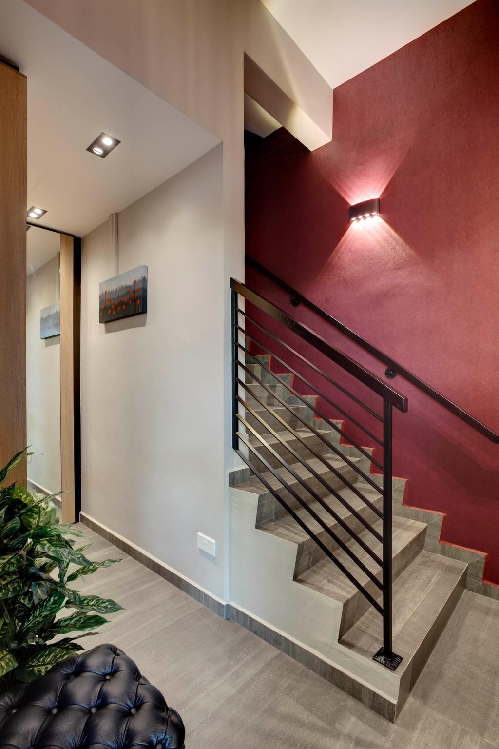 Scandinavian, Landed, Living Room, Chempaka Kuning Link, Interior Designer, Juz Interior