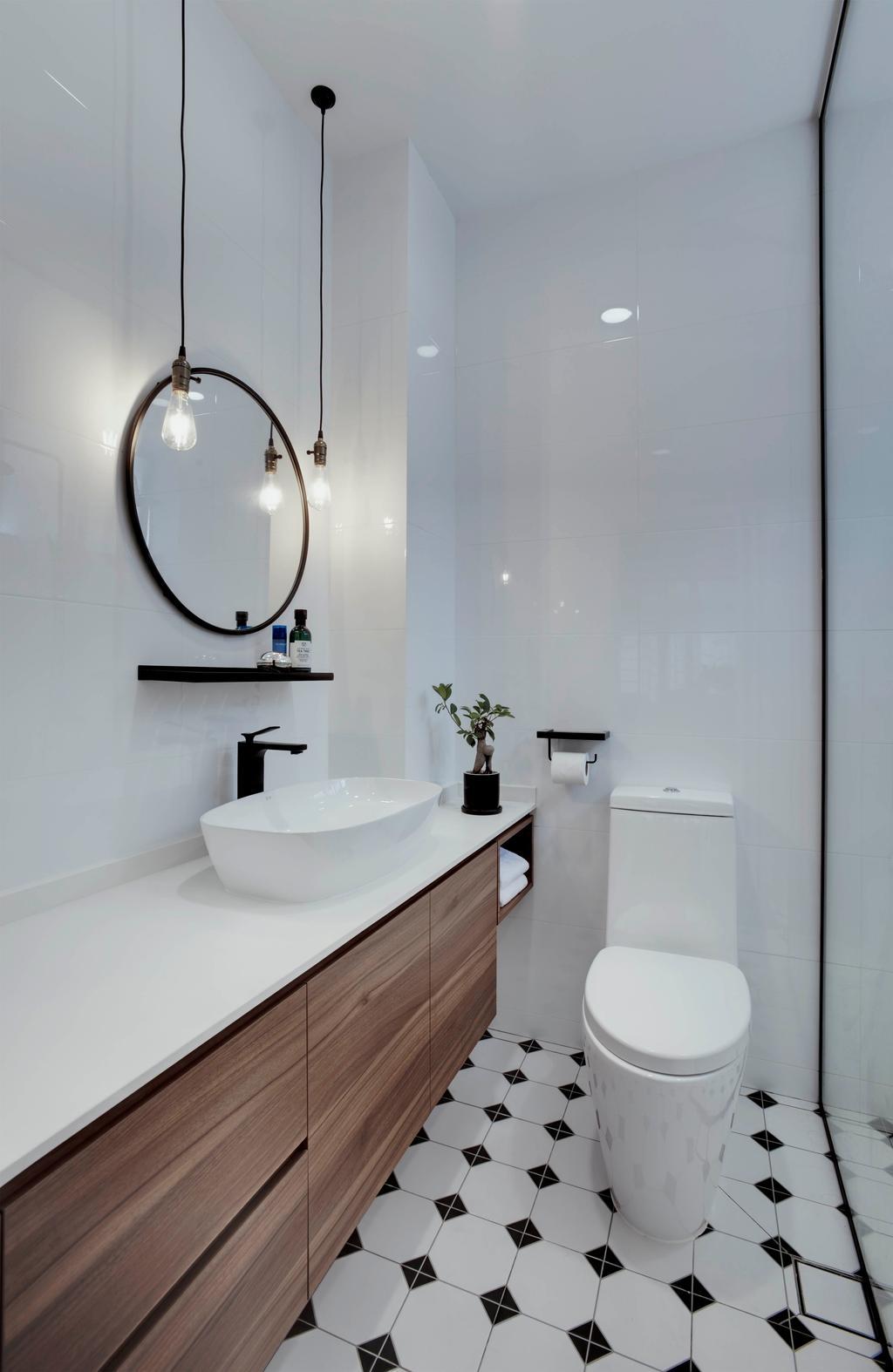 Contemporary, Condo, Bathroom, Gideon's Lodge, Interior Designer, Juz Interior, Scandinavian