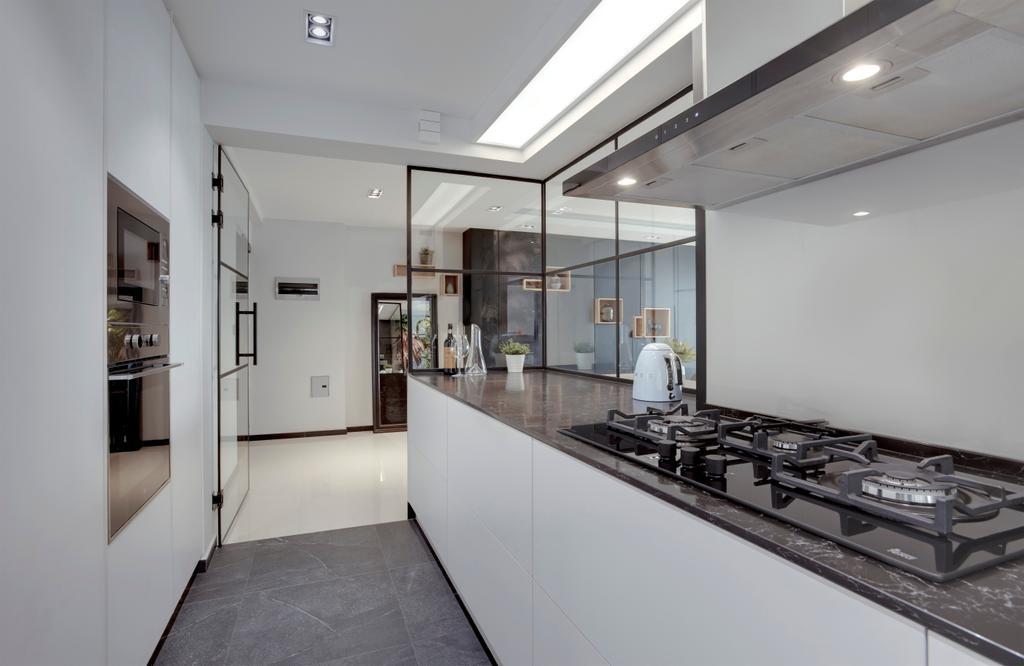 Contemporary, HDB, Kitchen, Clementi Avenue 1, Interior Designer, Juz Interior