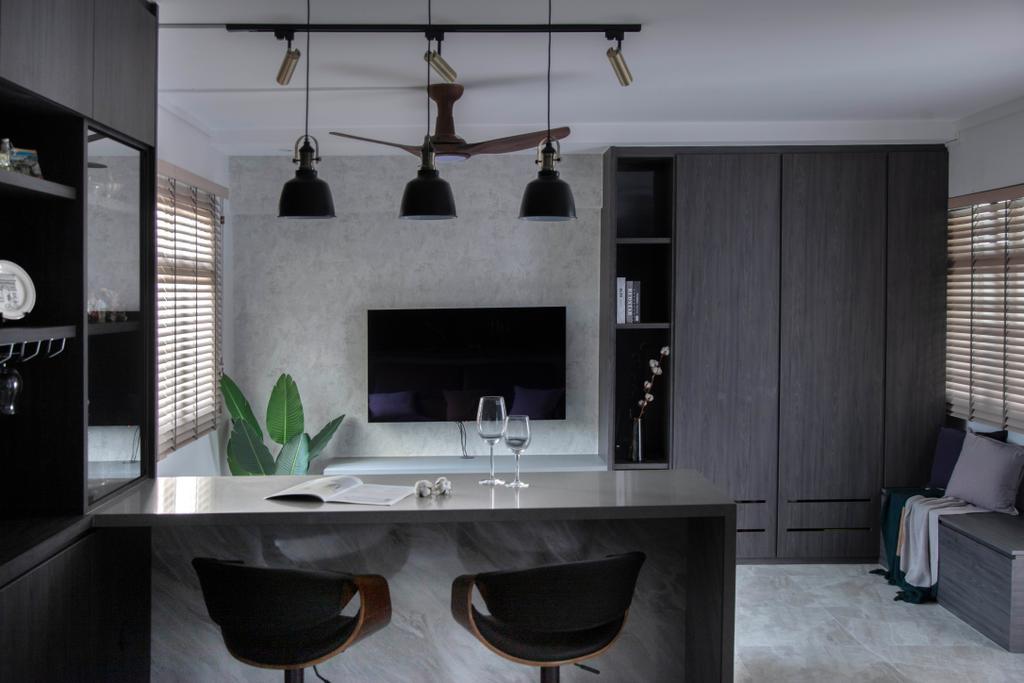 Contemporary, HDB, Dining Room, Boon Tiong Road, Interior Designer, Starry Homestead