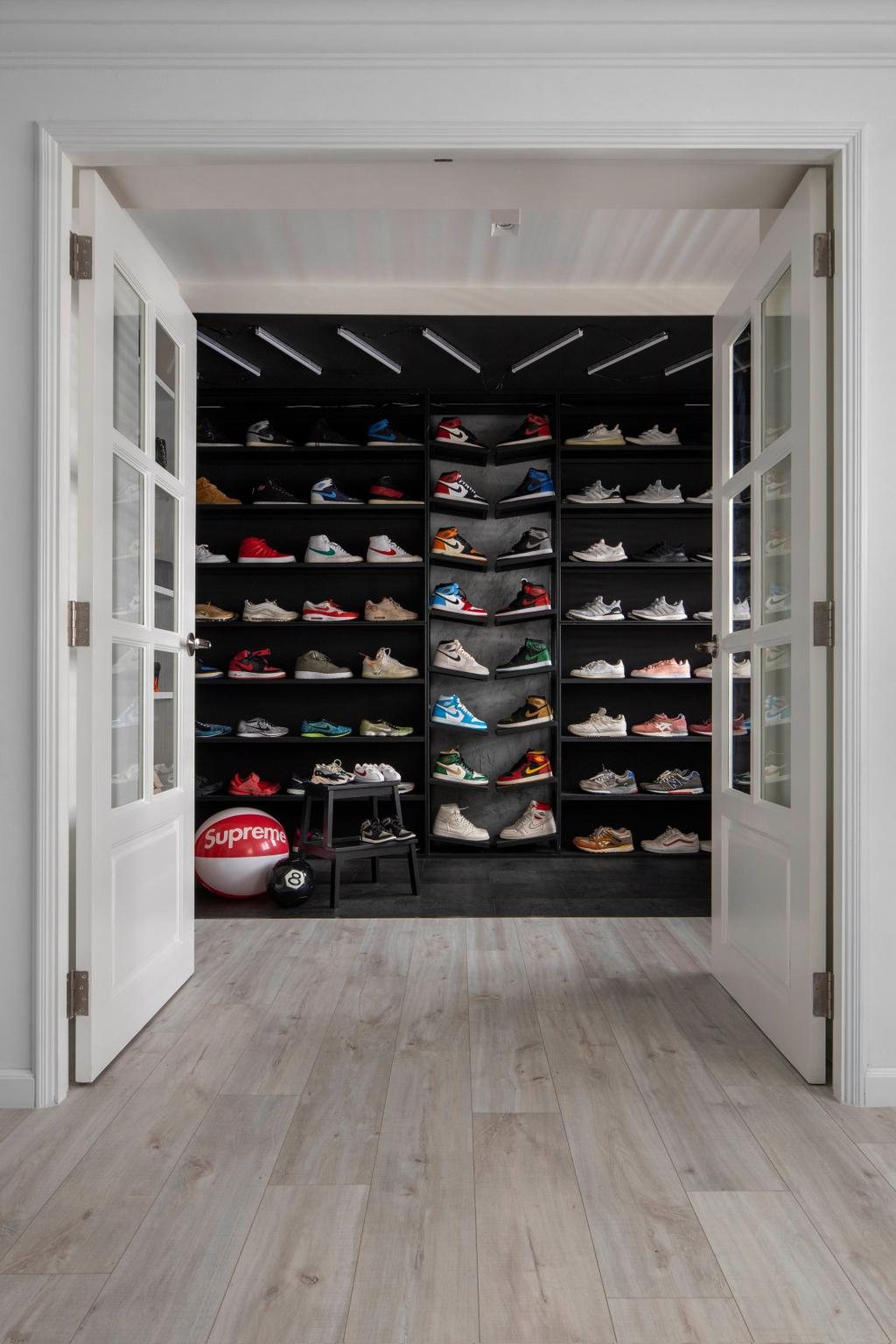 Contemporary, HDB, Bedroom, Tampines Avenue 7, Interior Designer, Fifth Avenue Interior, Transitional