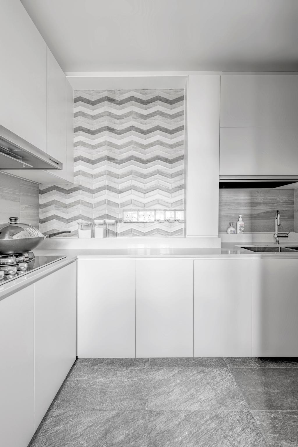 Scandinavian, HDB, Kitchen, Serangoon North Avenue 4, Interior Designer, erstudio