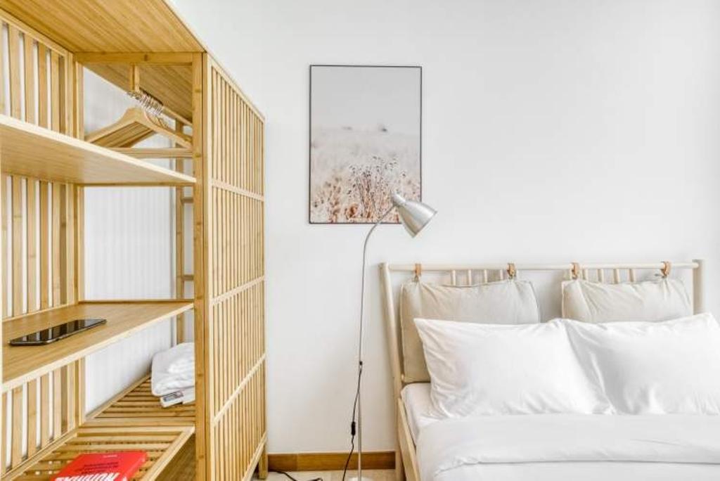 Scandinavian, Condo, Bedroom, Tribeca by the Waterfront, Interior Designer, Hmlet Interiors, Contemporary