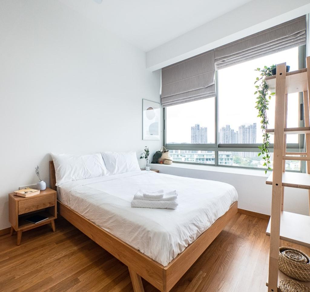 Scandinavian, Condo, Bedroom, Lush on Holland Hill, Interior Designer, Hmlet Interiors