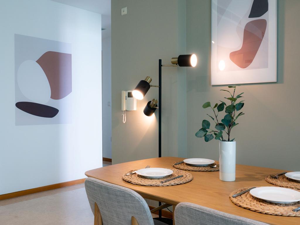 Scandinavian, Condo, Dining Room, Lush on Holland Hill, Interior Designer, Hmlet Interiors