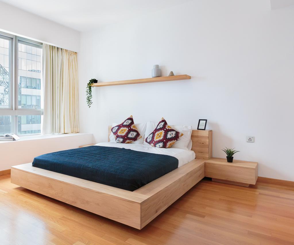 Scandinavian, Condo, Bedroom, One Shenton, Interior Designer, Hmlet Interiors, Contemporary