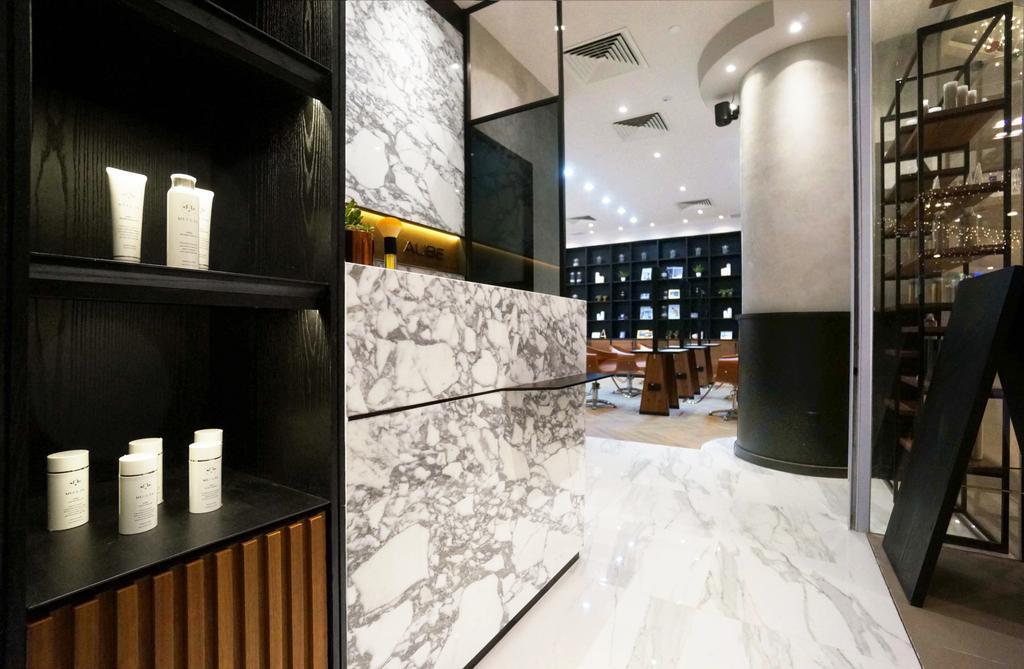 Aube Beauty Salon @ Marina Link, Commercial, Interior Designer, Fineline Design, Contemporary