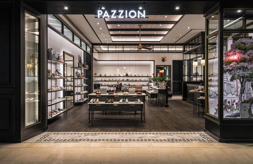 Pazzion @ Wisma Atria, Commercial, Interior Designer, Fineline Design