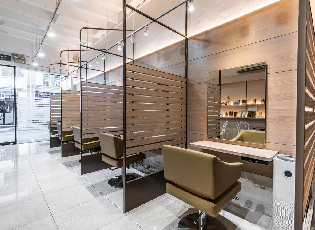 Covo Hair Salon @ Keong Saik Road, Commercial, Interior Designer, Fineline Design, Contemporary