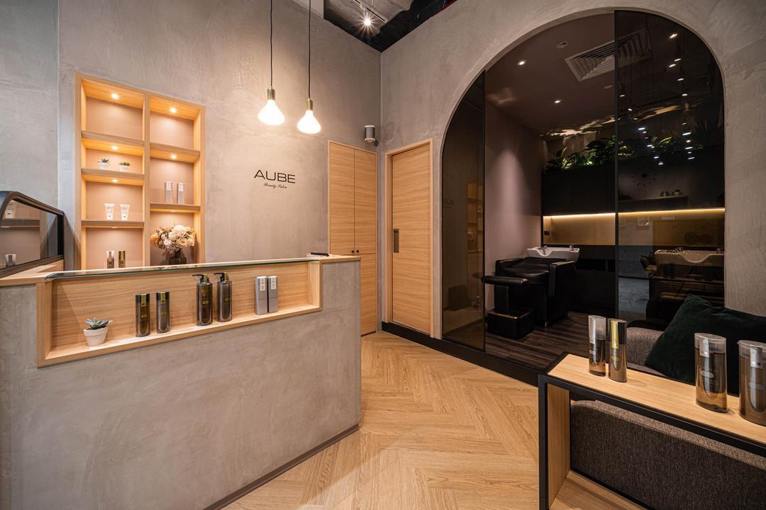 Aube Beauty Salon @ Cineleisure by Fineline Design
