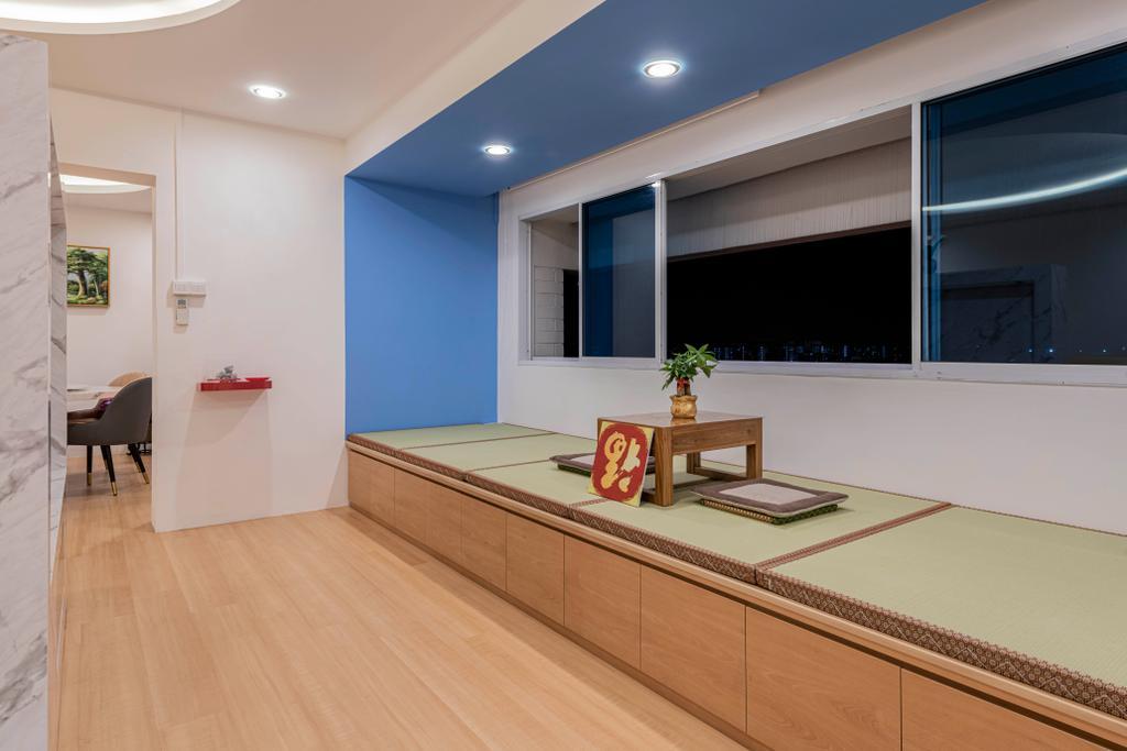 Contemporary, HDB, Living Room, Choa Chu Kang Street 51, Interior Designer, Renologist