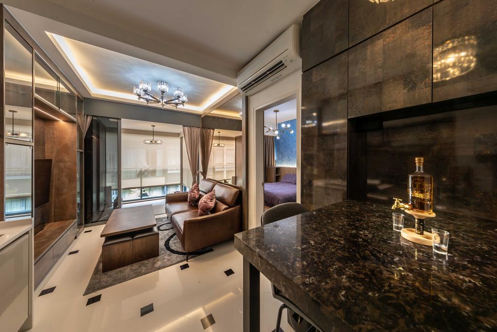 Contemporary, Condo, Dining Room, Sophia Hills, Interior Designer, Swiss Interior Design