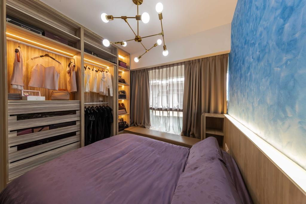 Contemporary, Condo, Bedroom, Sophia Hills, Interior Designer, Swiss Interior Design