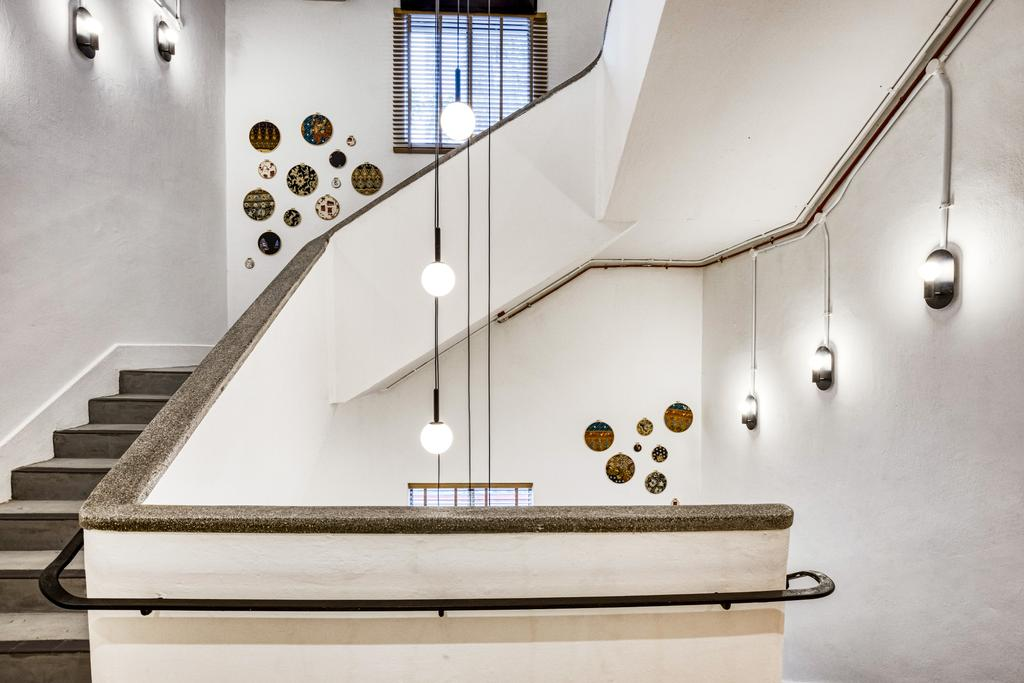 Hmlet @ Cantonment, Commercial, Interior Designer, Hmlet Interiors, Transitional, Retro, Vintage